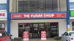 Burnaby The Foam Shop Storefront